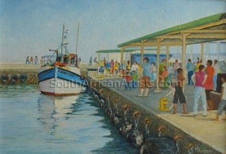 Sunny Sunday at Kalkbay Harbour