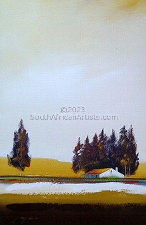 Brown Landscape 1
