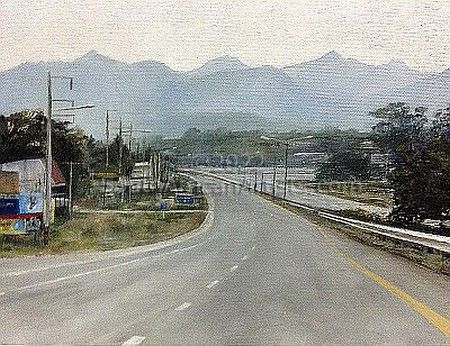 Road to Kao Yai, Thailand