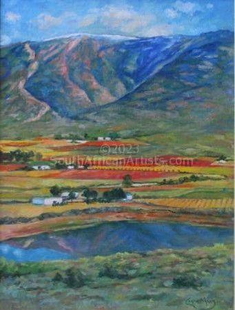 Hex River Autumn Landscape (2)