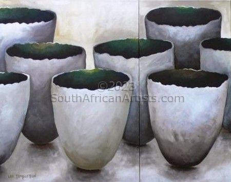 Jade Lava Pots