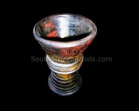 Raku Ceremonial Goblet