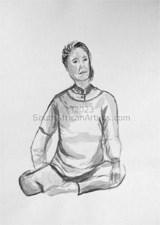 Woman Sitting 2