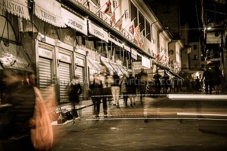 Nightlife Ponte Vecchio - Florence