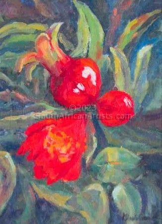 Budding Pomegranates