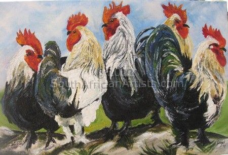 Chickens Together