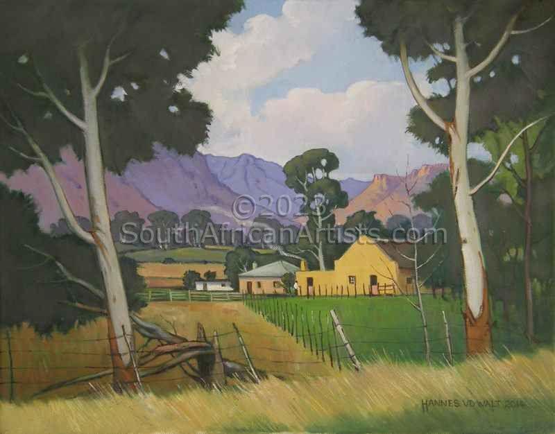Rural Scene Near Herold
