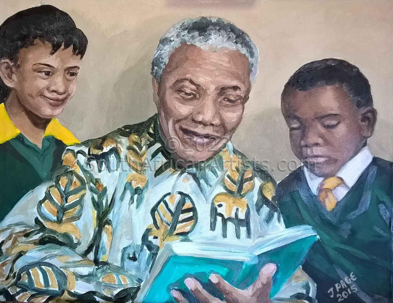 Madiba with Children