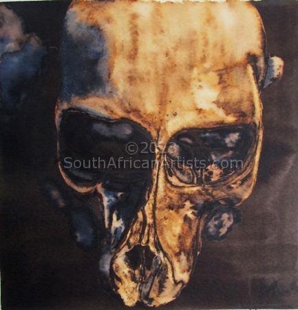 Juvenile Baboon Skull 13