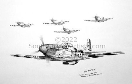 P-51 North American Mustang Squadron