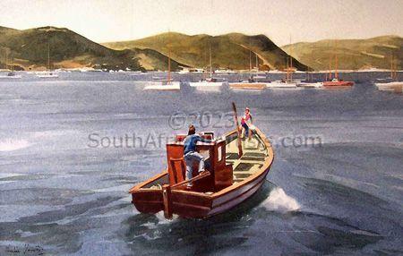 Fishing Boat at Simonstown