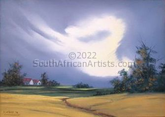 Storm over the Pastures