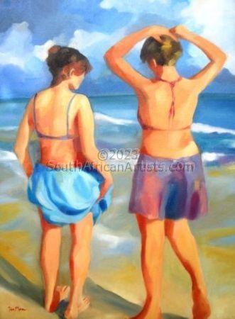 Bathers - Women on the Beach