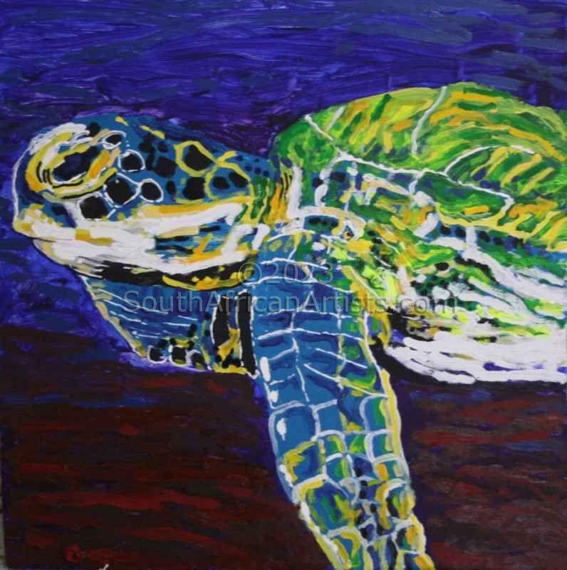 Swimming Turtle 2