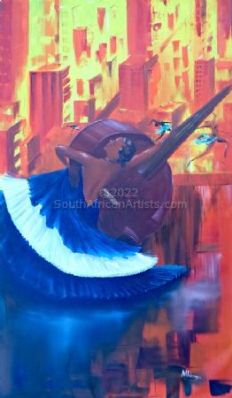The Dancer in Blue