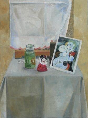 Picasso Postcard Still Life