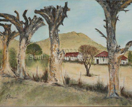 Scorched Trees Nieu Bethesda