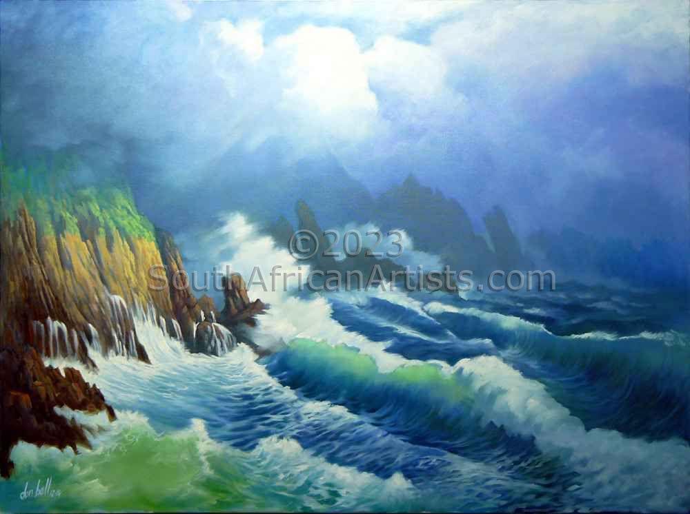 Raging Seas