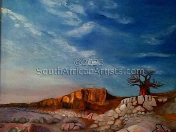 Khubu Island in Botswana