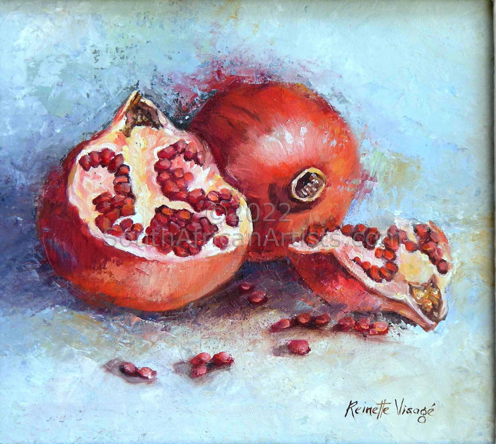Pomegranate Plus Halves