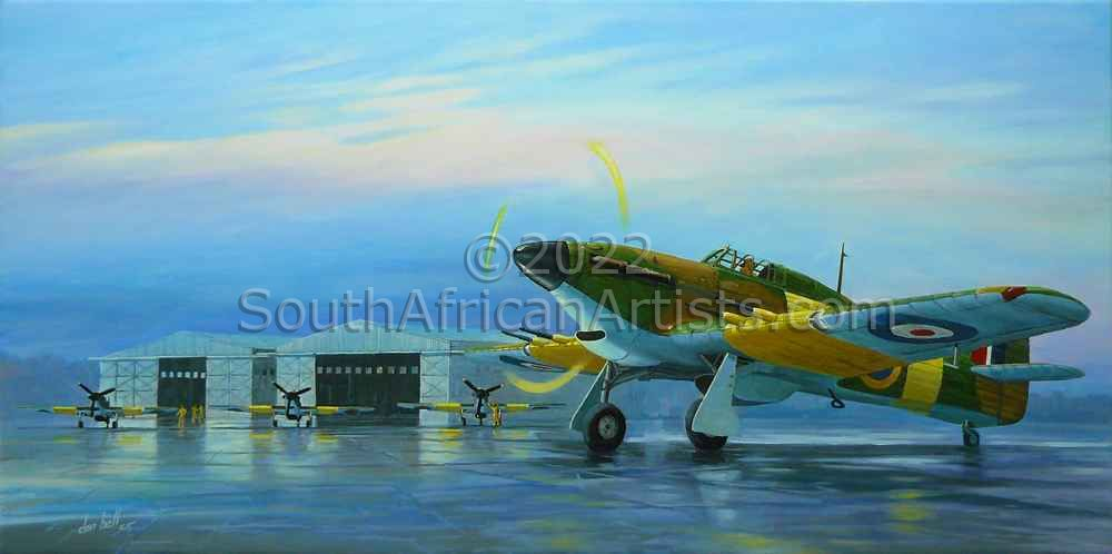 Hawker Hurricanes Mk-IIC 42nd Air School