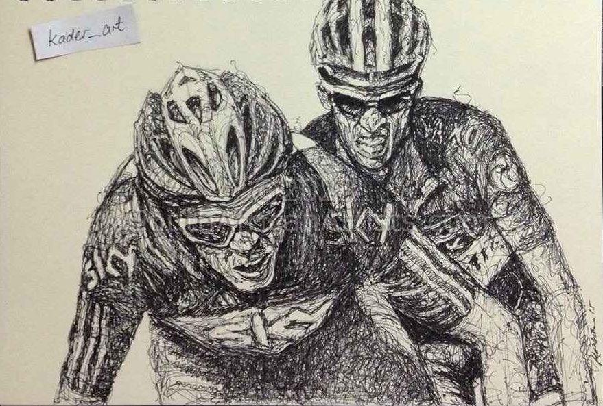 Froome vs Contador