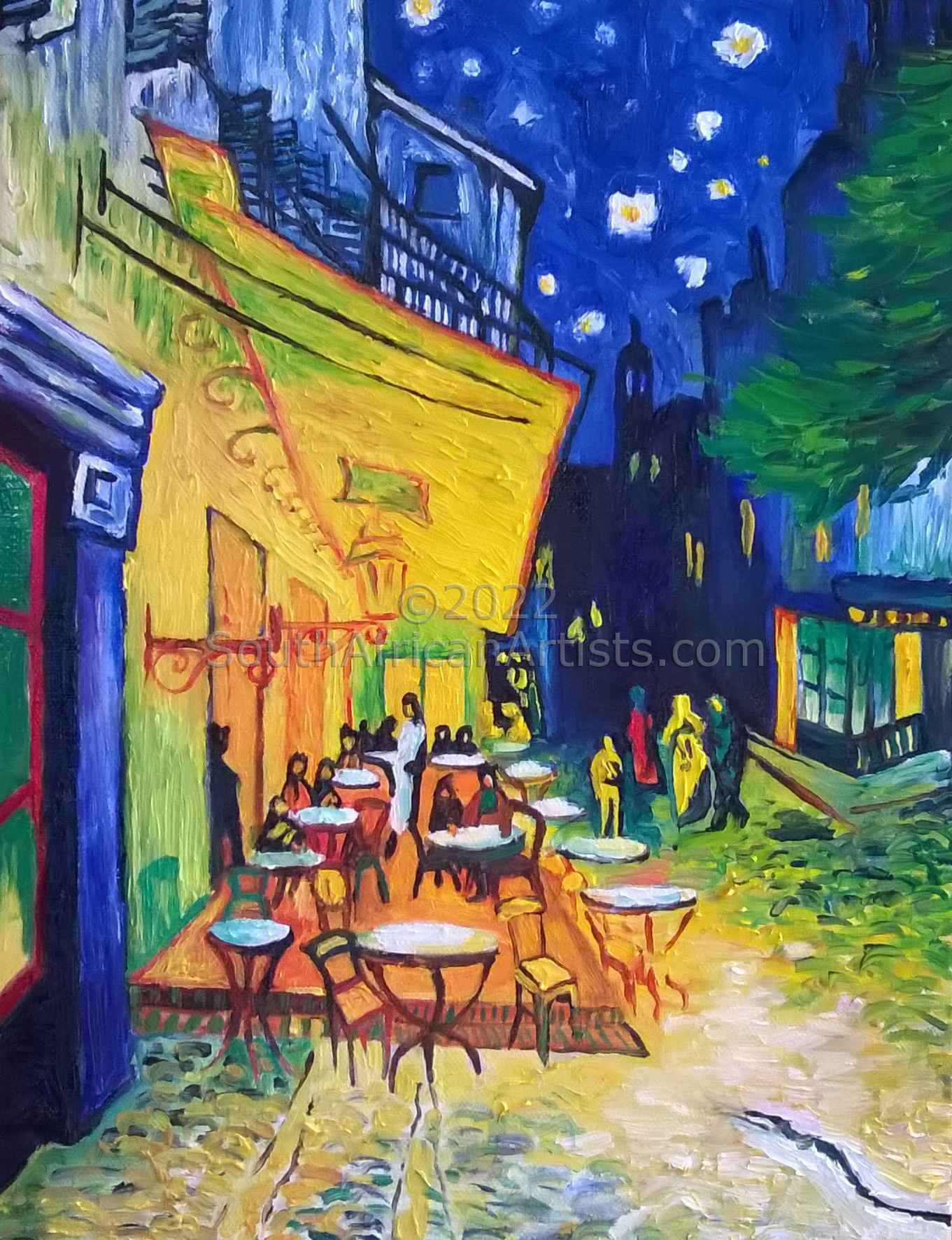 Van Gogh Cafe Terrace Reproduction