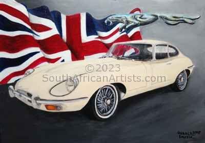 Jaguar E-Type British Pride