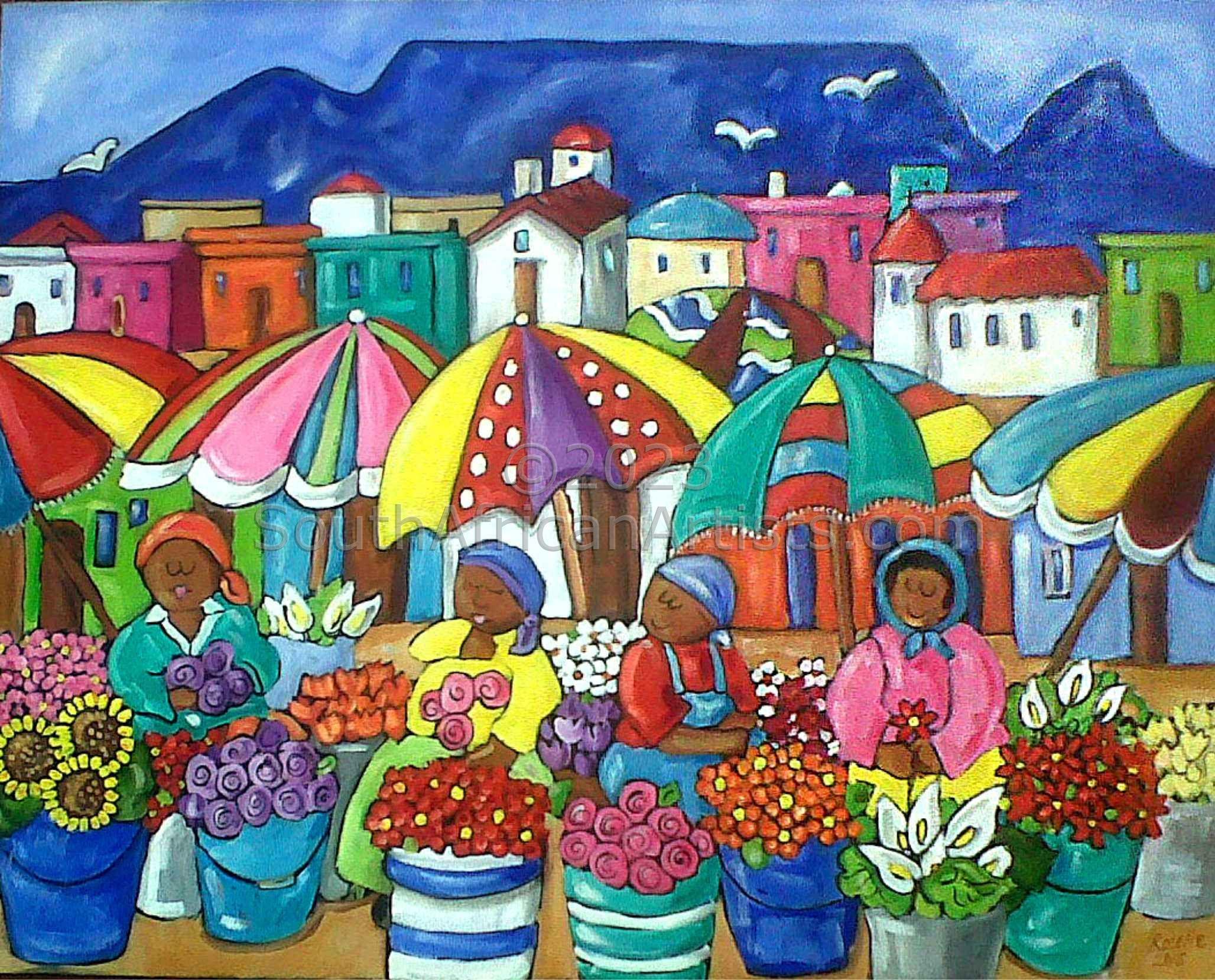 Cape Flower Sellers