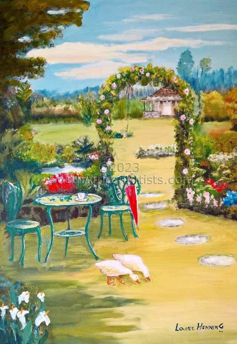 Silvers Mist Tea Garden