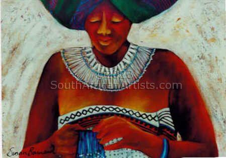 Portrait: Xhosa Woman, Boardwalk Casino, Port Elizabeth
