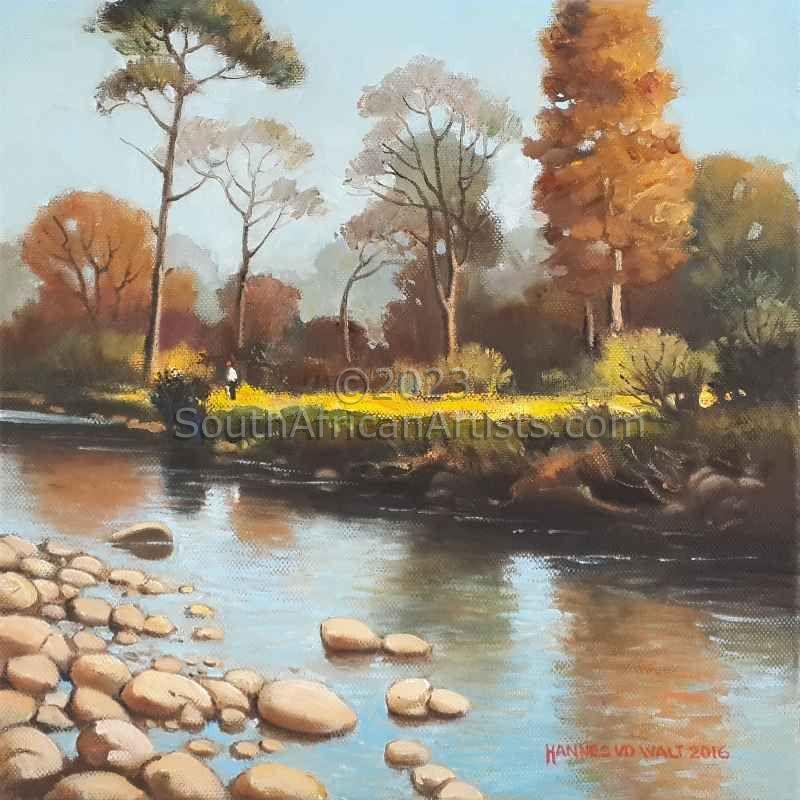 Morning Light Eerste River Stellenbosch