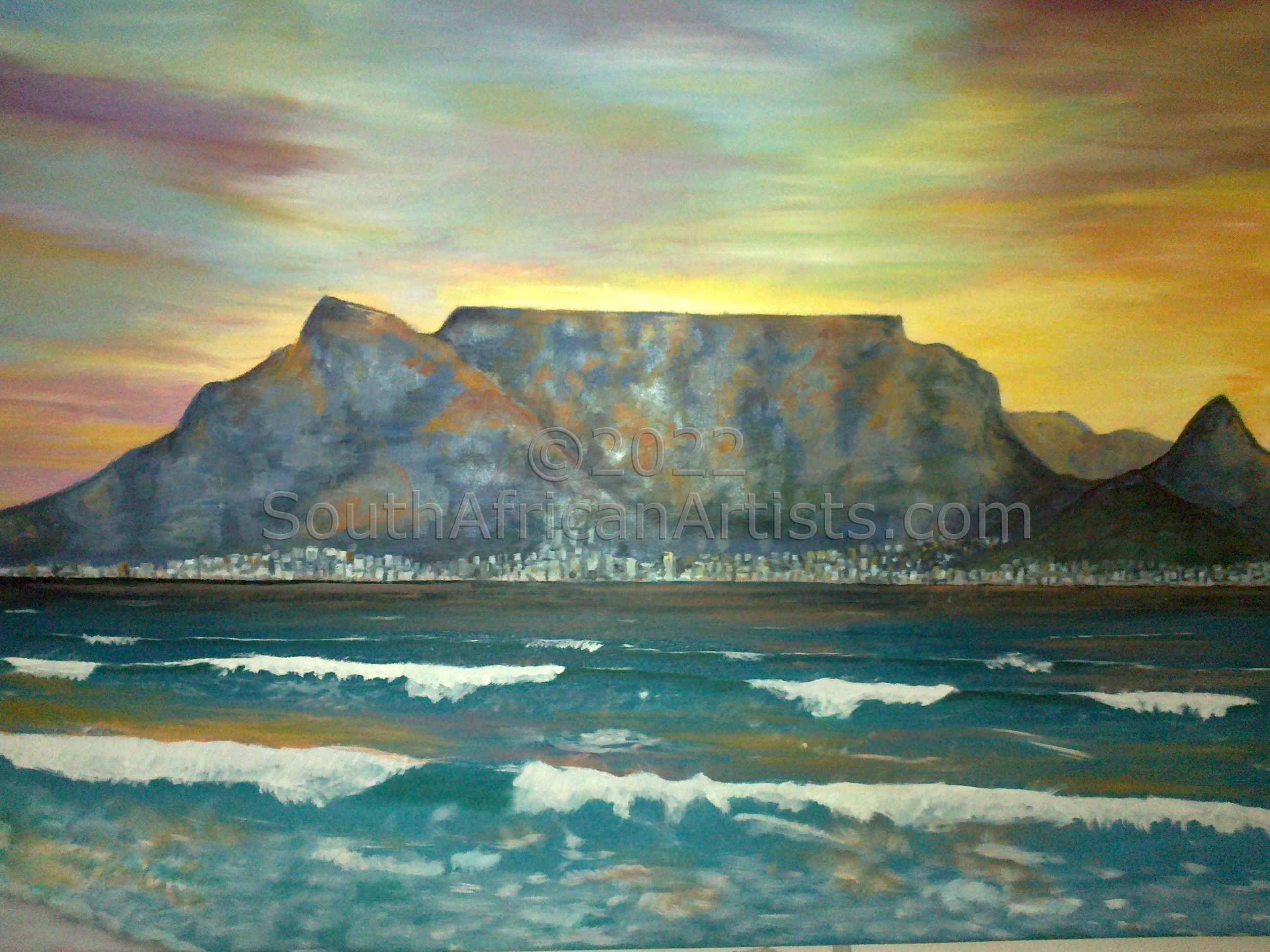 """Sunset Table Bay"""