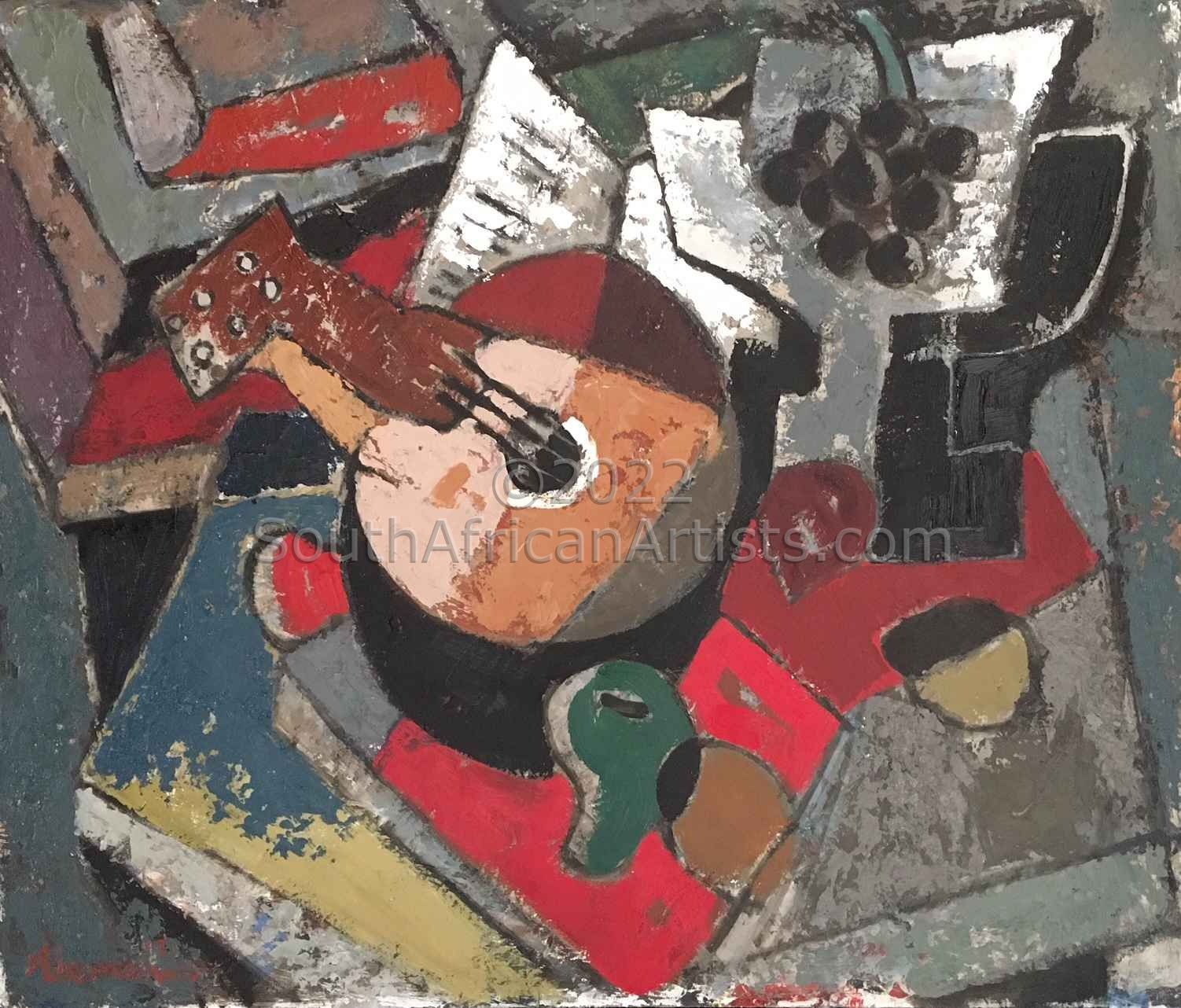 """Still Life with Musical Instrument"""