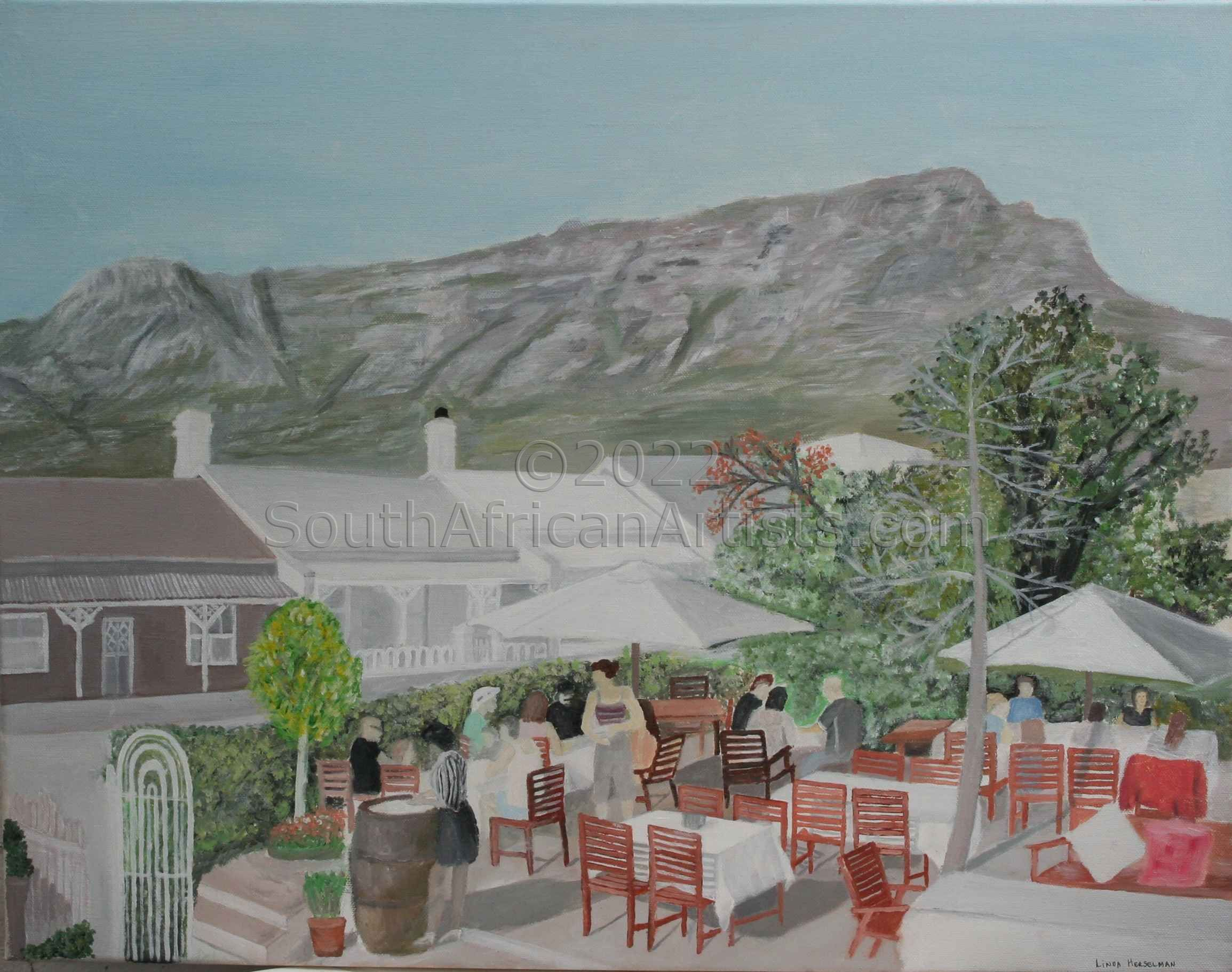 """Cape Town Cafe Paradiso"""