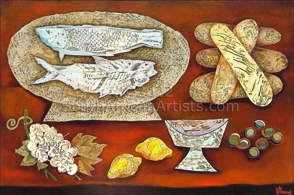 """Five Loaves and Two Fishes - Digital"""