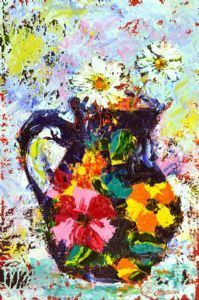 """Daisies in a Portuguese Jug"""