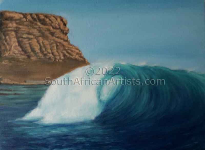 """Wave at Elands Bay"""