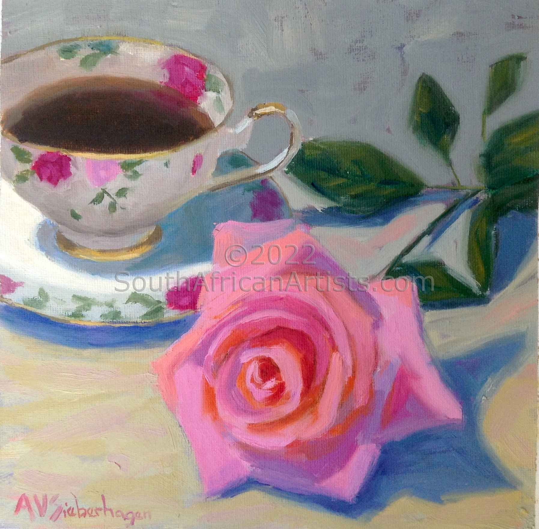 """Rose and Teacup"""