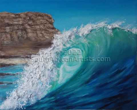 """Elands Bay Wave"""