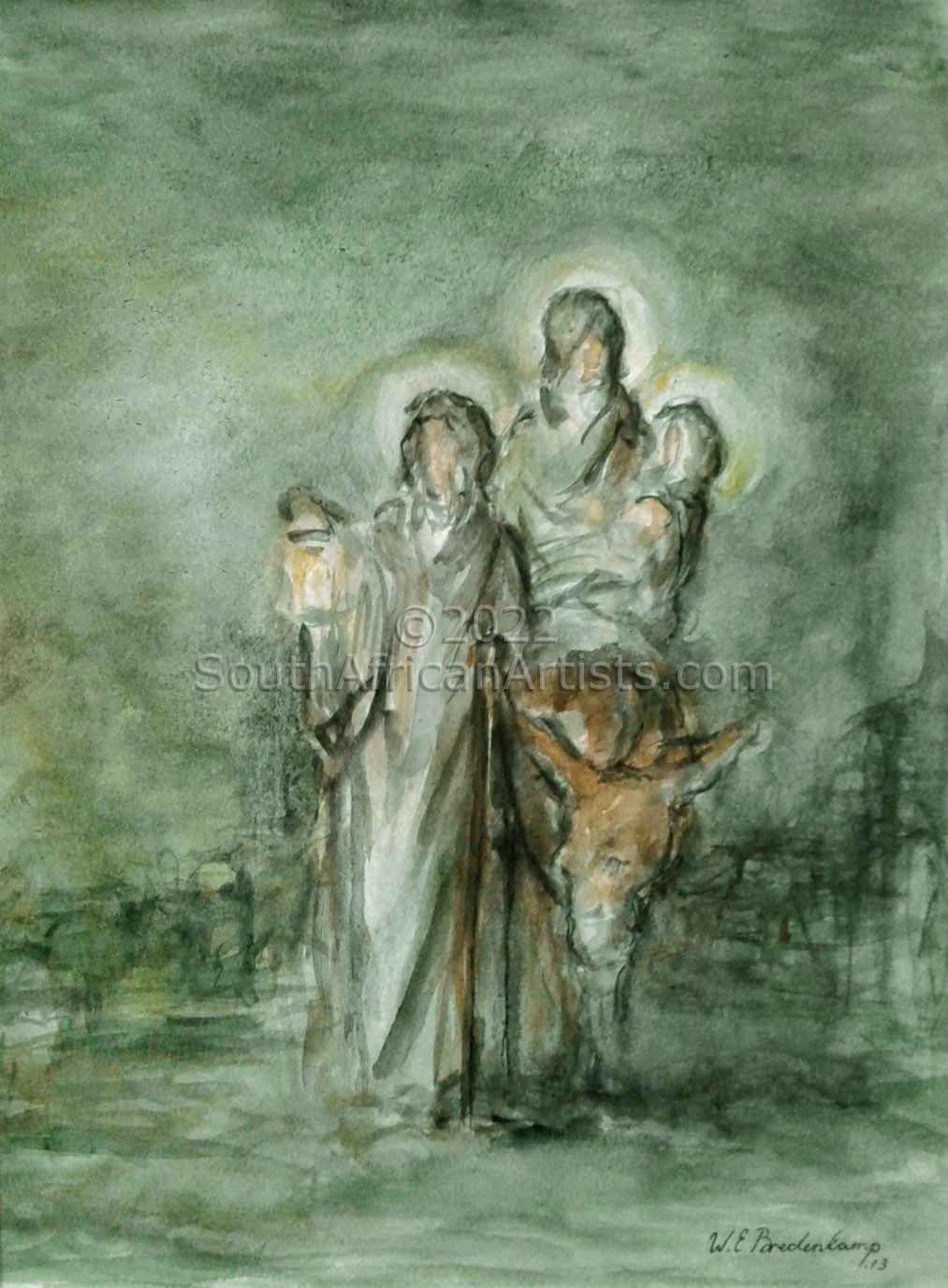 """Flight Into Egypt"""