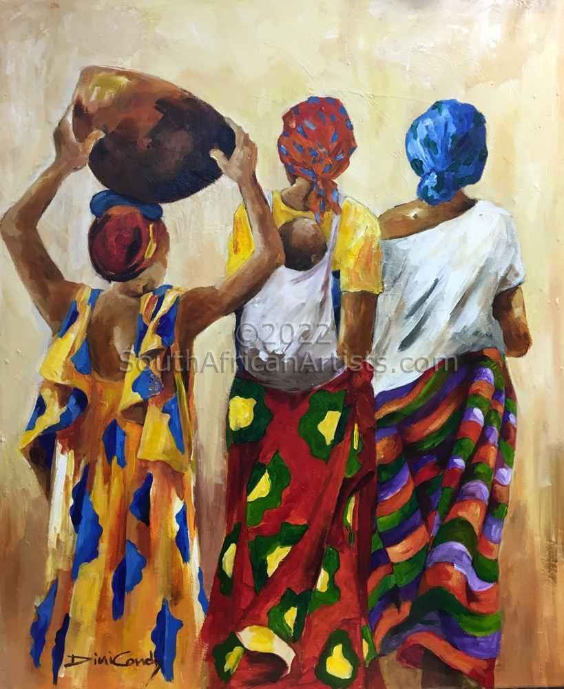 """Sarongs in Africa"""