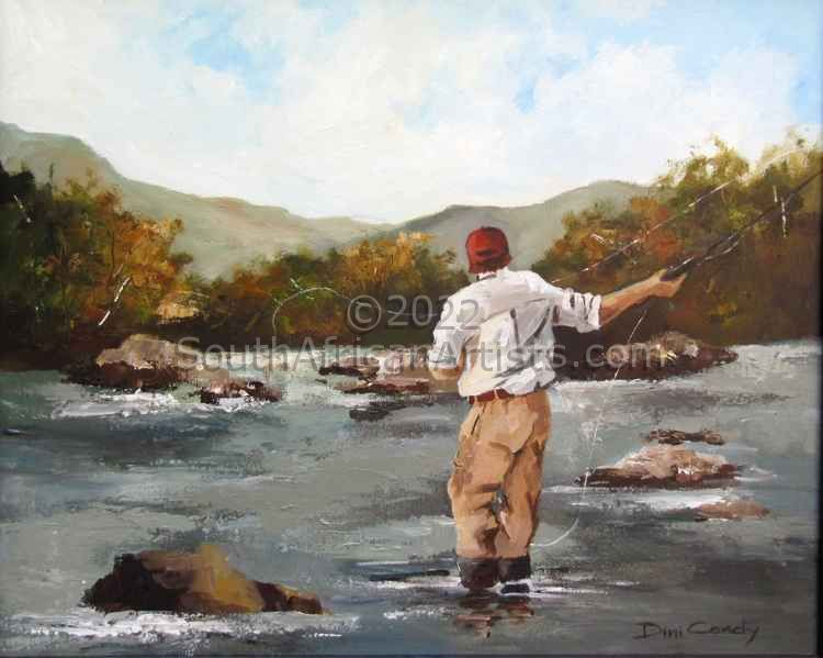 """Fly Fishing-in Motion"""