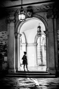 """Lady in the Archway, Venice"""