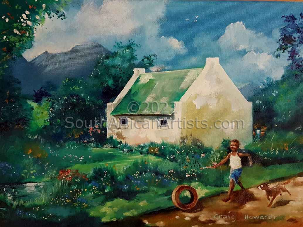"""South African Cottage"""