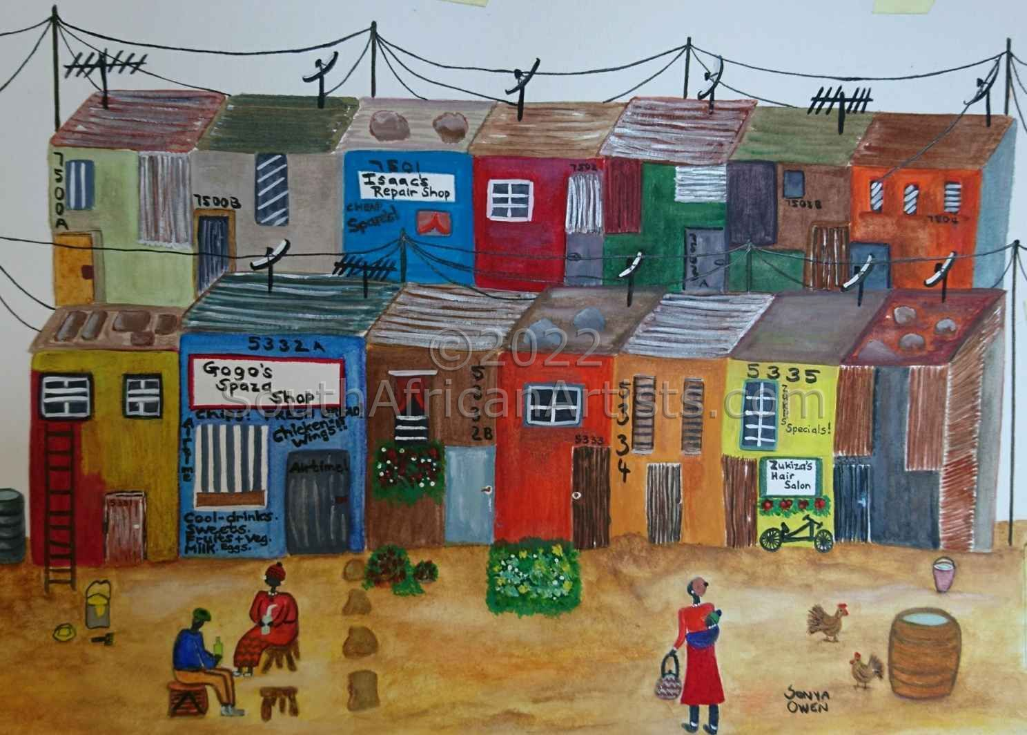 """Township Living, Cape Town"""