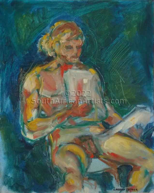 """Study Of Nude Male"""