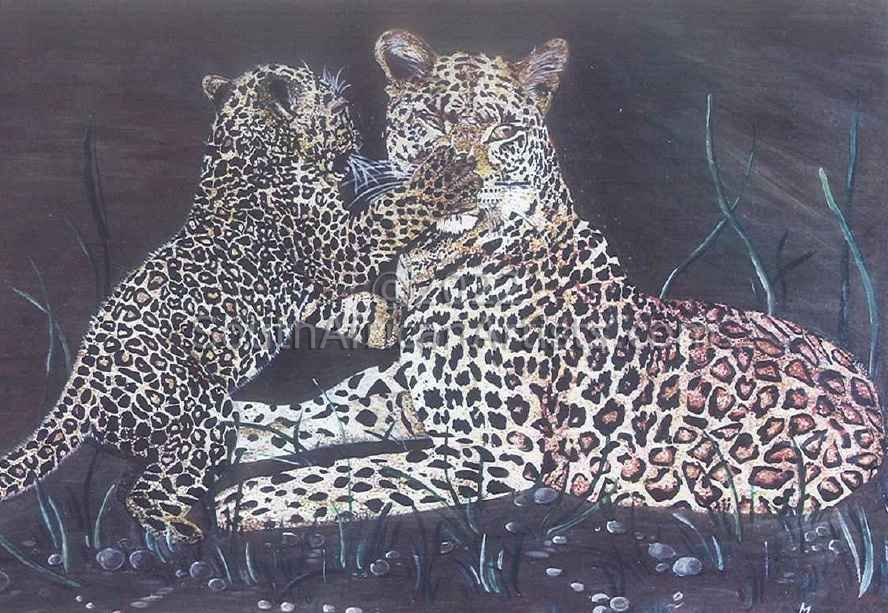 """Leopard and Cub"""