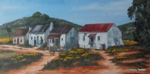 """Four Cottages in a Row"""