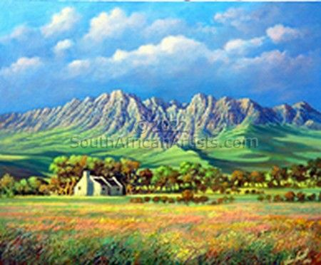 """Cape Mountain Landscape -1"""